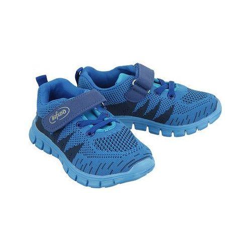 516x 020 niebieski, półbuty sportowe dziecięce, rozmiary: 27-32 - granatowy marki Befado