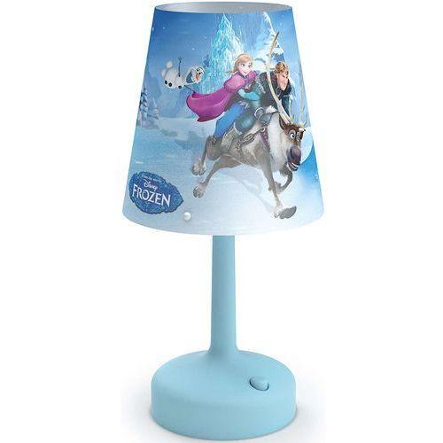 Philips  71796/08/16 - lampa stołowa dla dzieci disney frozen led/0,6w/3xaa