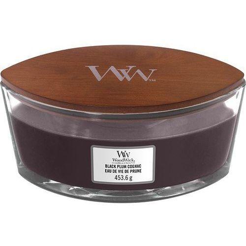 Świeca Hearthwick WoodWick Black Plum Cognac