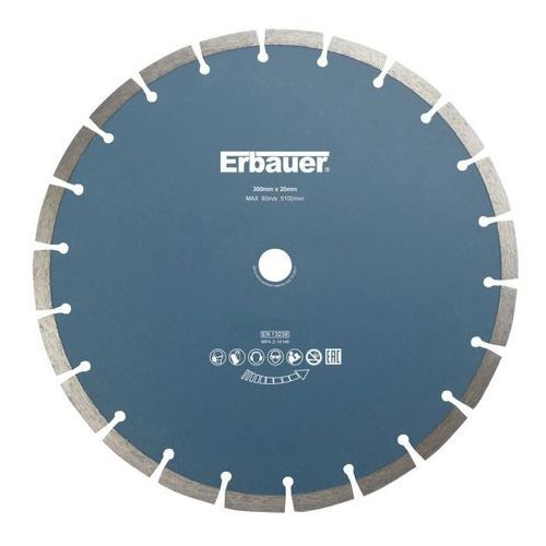 Tarcza diamentowa segmentowa 300 x 20 mm marki Erbauer