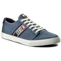 Tenisówki HELLY HANSEN - Salt Flag F-1 113-01.701 Vintage Indigo/Graphite Blue/Off White/Paprika, kolor niebieski