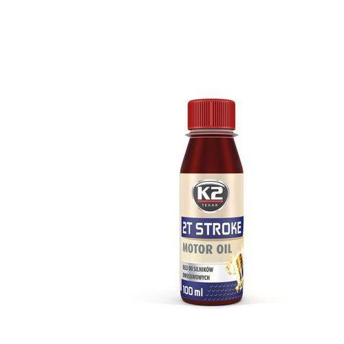 Olej do maszyn ogrodowych K2 2T Stroke 100 ml (czerwony)