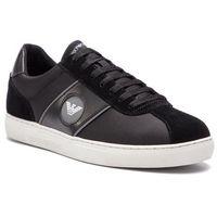 Sneakersy - x4x259 xl708 k003 black/bl/bl/silver marki Emporio armani