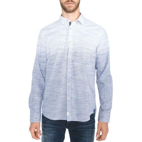 Marc O'Polo Koszula Niebieski Biały M, 1 rozmiar
