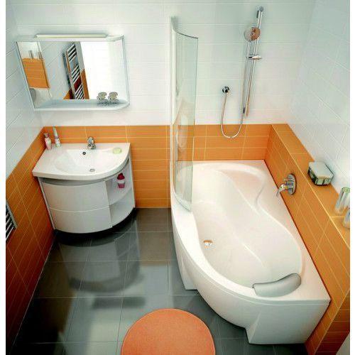 Ravak szafka podumywalkowa sdu rosa comfort l biała/biała x000000328