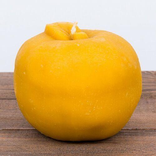 Łysoń Świeca woskowa jabłko duże (115 mm / 110 mm) (5906660818090)
