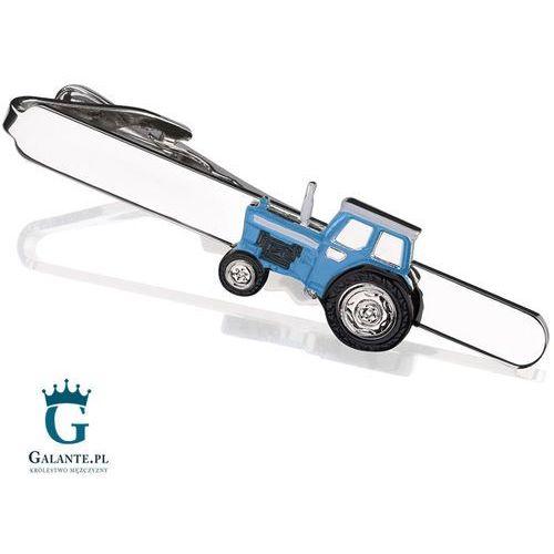Galante Spinka do krawata niebieski traktor sk-1296