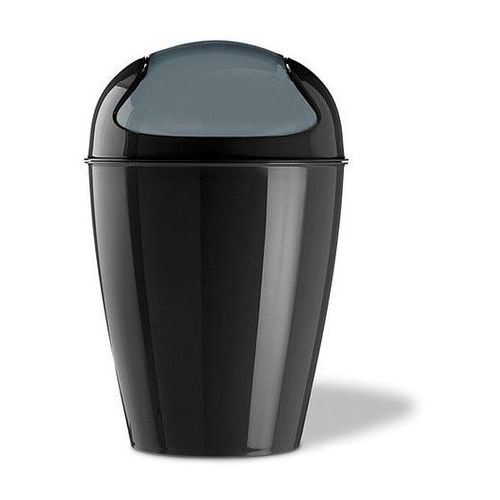 Koziol Kosz na śmieci del m, 12 l - kolor czarny,