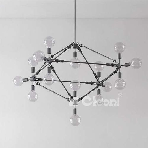 Loftowa LAMPA wisząca ONOFRE 1381/FQ1/DN1/+kolor Cleoni metalowa OPRAWA pająk instalacja zwis - sprawdź w wybranym sklepie