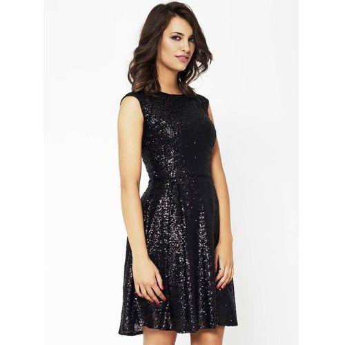 Sukienka Rita w kolorze czarnym