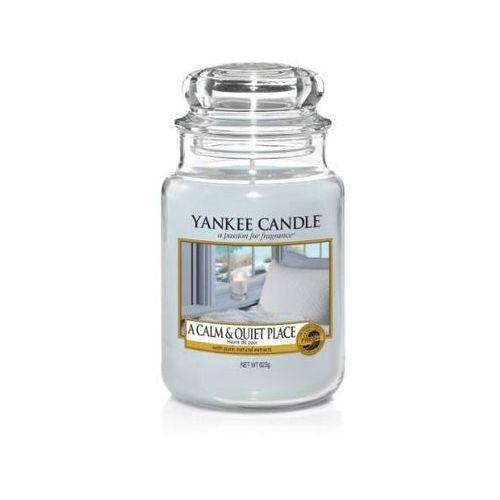 Yankee candle a calm & quiet place 623g duża świeca szybka wysyłka infolinia: 690-80-80-88