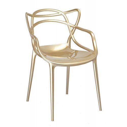 Pozostali Krzesło orbit - inspirowane proj. masters - gold