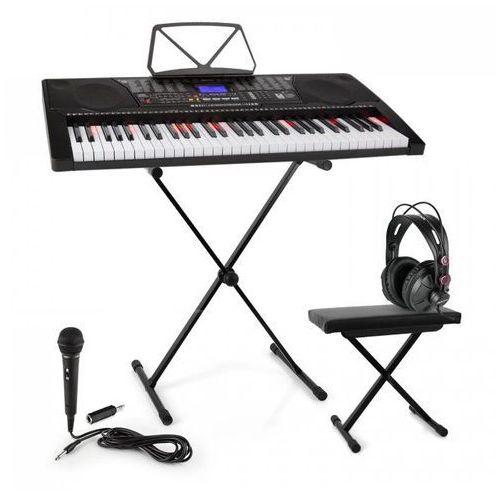 Elektronik-star Schubert etude 225 usb zestaw keyboard do nauki ze stojakiem i ławką