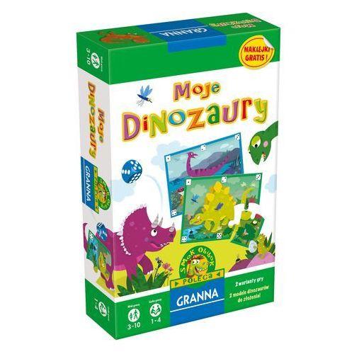 Granna, gra przygodowa Moje dinozaury (5900221002539)