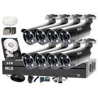 Zestaw do monitoringu: Rejestrator BCS-XVR1601+ 8x BCS-TQE5200IR3 - Dysk 1tB + Akcesoria