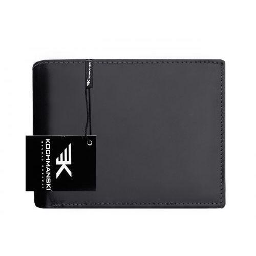 Skórzany portfel męski Kochmanski RFID stop 1239