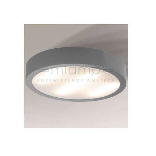 Shilo Plafon lampa sufitowa nomi 1148/2g11/sz minimalistyczna oprawa natynkowa szara