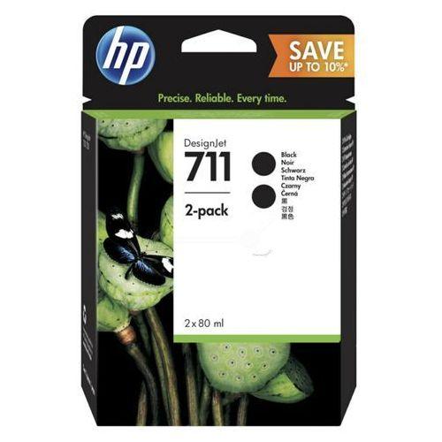 HP 2 x tusz Black Nr 711, CZ133A, P2V31A