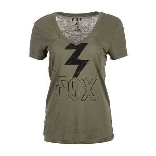 Fox t-shirt damski repented s khaki