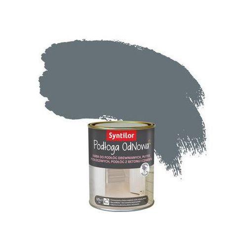 Farba do podłóg wewnętrznych PODŁOGA ODNOWA Stalowy SYNTILOR, kolor szary