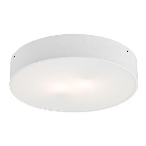 Plafon LAMPA sufitowa DISC LED 15W 30302101 Kaspa minimalistyczna OPRAWA metalowa okrągła biała, kolor biały
