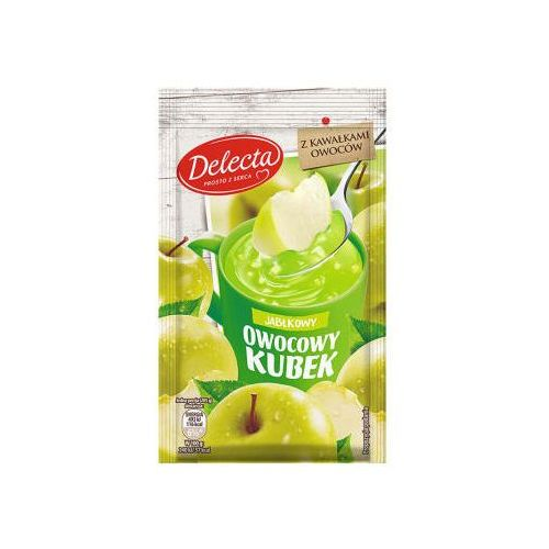 Kisiel smak zielone jabłuszko marki Delecta