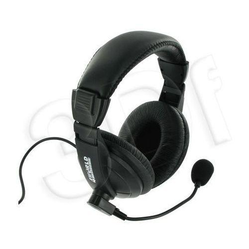 Słuchawki 4World PC na pałąku 04165