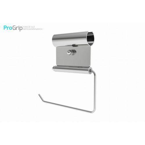 Zawieszka na papier toaletowy stal nierdzewna połysk Ø 25 mm, PSP/25/PAP