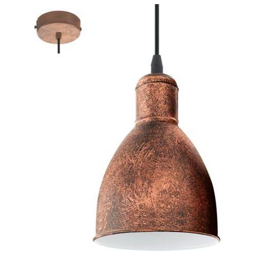 Lampa wisząca priddy 1, 49492 marki Eglo
