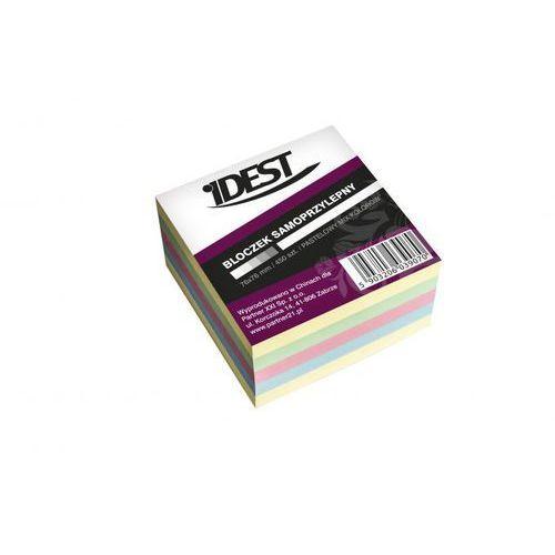 Kostka samoprzylepna 76x76/450k. mix pastelowy marki Idest