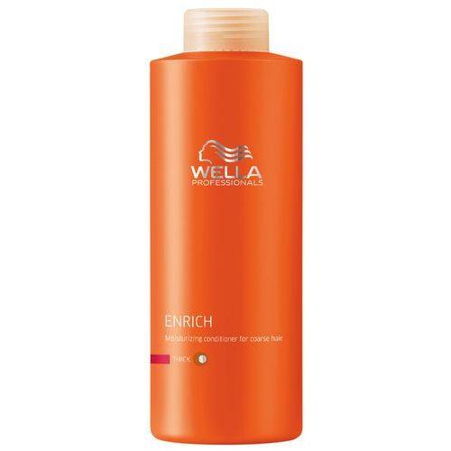 Wella  enrich conditioner thick hair 1000ml w odżywka do włosów grubych (4015600117894)