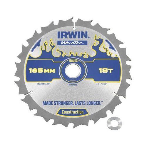 Tarcza do pilarki tarczowej 165 mm/18t c/20(16) marki Irwin weldtec