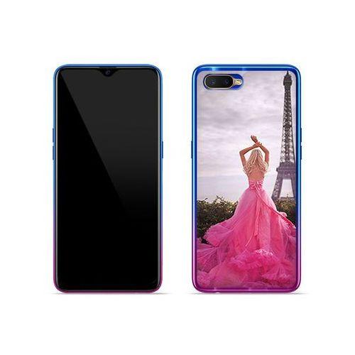 OPPO RX17 Neo - etui na telefon Foto Case - różowa sukienka, ETOO874FOTOFT071000