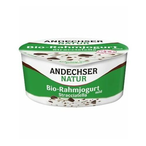 Jogurt kremowy stracciatella 10% BIO 150 g Andechser Natur (4104060026300)