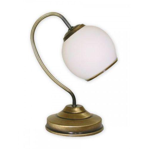 Rodos lampka stołowa 1 pł. / patyna, dodaj produkt do koszyka i uzyskaj rabat -10% taniej! marki Lemir