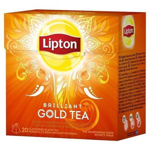 Lipton Herbata gold tea piramidki (20 saszetek)