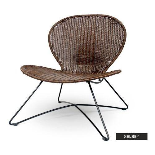 Selsey krzesło ogrodowe chavin z technorattanu