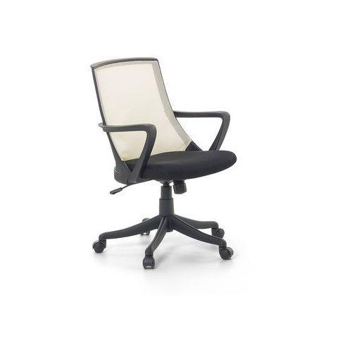 Beliani Krzesło biurowe beżowe - fotel biurowy obrotowy - meble biurowe - ergo (7081451832412)