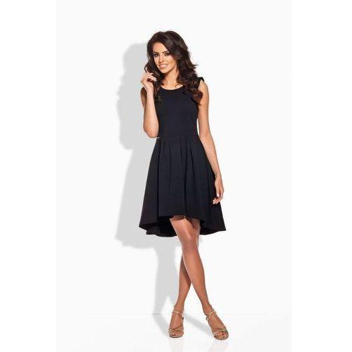 L127 czarna sukienka, kolor czarny