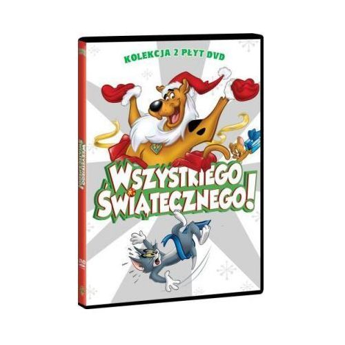 Wszystkiego świątecznego! (Scooby-Doo: Straszna zima pod psem, Tom i Jerry: Świąteczne przygody) (2 DVD) (7321909340268)