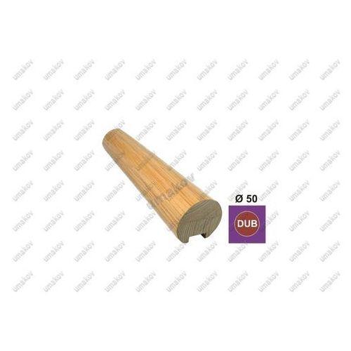 Umakov Poręcz d50mm długość 2500mm nielakierowany dub (oa