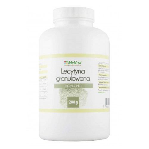 Lecytyna w proszku granulowana non-gmo 400 g marki Myvita. Najniższe ceny, najlepsze promocje w sklepach, opinie.