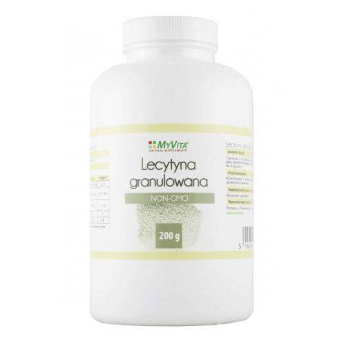 Lecytyna w Proszku Granulowana NON-GMO Myvita 200 g. Najniższe ceny, najlepsze promocje w sklepach, opinie.