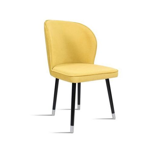 B&d Krzesło rino miodowy/ noga czarny silver/ lu2784