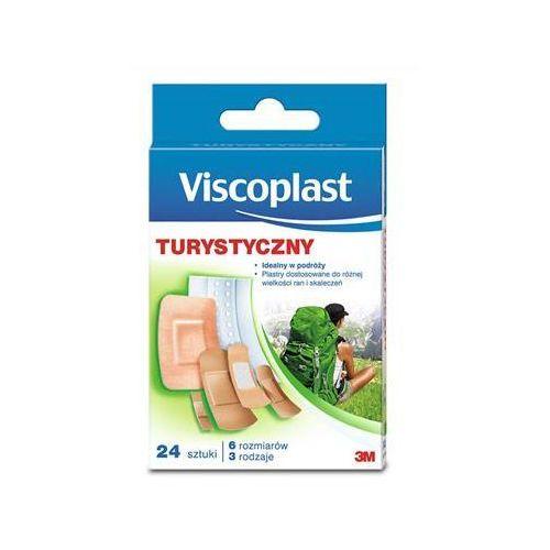 Zestaw plastrów VISCOPLAST, turystycznyurystyczny, 24szt., mix kolorów