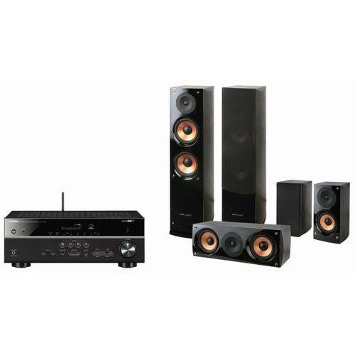 Kino domowe YAMAHA HTR 4071B + Kolumny Pure Acoustics Nova 6 Czarny + Zamów z DOSTAWĄ JUTRO! + DARMOWY TRANSPORT! (2900976569779)
