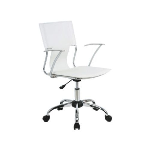 Fotel obrotowy, krzesło biurowe q-010 white marki Signal