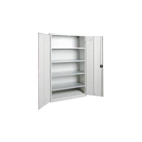 Stumpf-metall Szafka z drzwiami skrzydłowymi,z drzwiami w całości z blachy, 4 półki