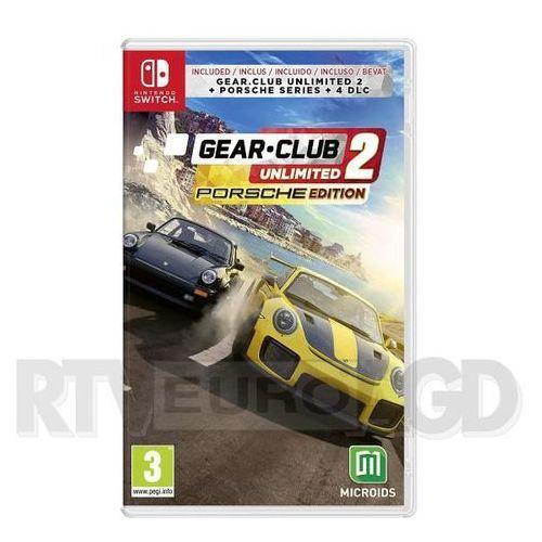 Gear club unlimited 2: porsche edition nintendo switch marki Microids