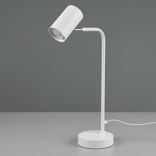 Trio marley 512400131 lampa stołowa lampka 1x35w gu10 biały mat (4017807488722)